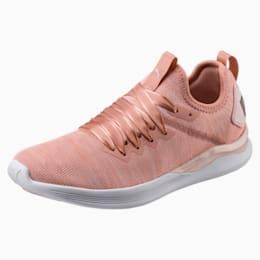 IGNITE Flash evoKNIT Satin En Pointe Women's Sneakers, Peach Beige-Pearl-White, small