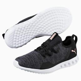 Carson 2 X Knit Women's Running Shoes, Puma Black-Periscope, small