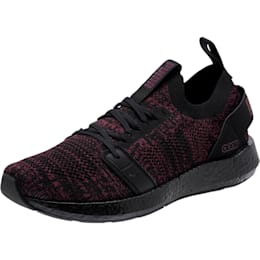 NRGY Neko Engineer Knit Women's Running Shoes, Puma Black-Fig, small