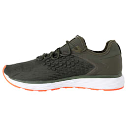 SPEED FUSEFIT Men's Running Shoes, Forest Night-Firecracker, small-IND