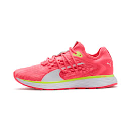 SPEED 600 FUSEFIT Women's Running Shoes, Pink Alert-Puma White, small