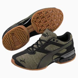 Tazon 6 Heather Rip Sneakers JR, Forest Night-Puma Black, small
