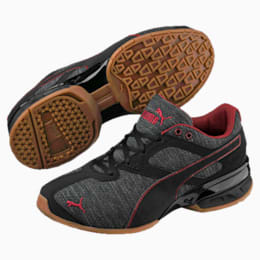 Tazon 6 Heather Rip Little Kids' Shoes, Iron Gate-Black-Pomegranate, small