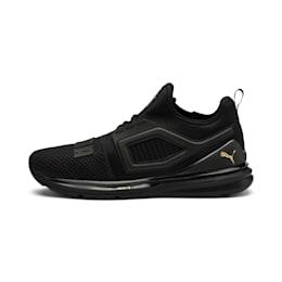 IGNITE Limitless 2 Running Shoes, Puma Black-Metallic Gold, small-SEA