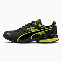 Tazon 6 Fracture FM Sneakers JR, Puma Black-Safety Yellow, small