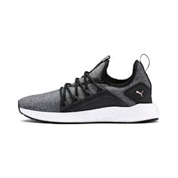 NRGY Neko Knit Women's Running Shoes, Puma Black-Bridal Rose, small