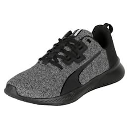 Tishatsu Runner Knit Wn s Puma Black-Pum, Puma Black-Puma White, small-IND