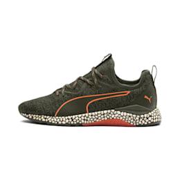Hybrid Runner Unrest Men's Running Shoes, Forest Night-Firecracker, small-IND