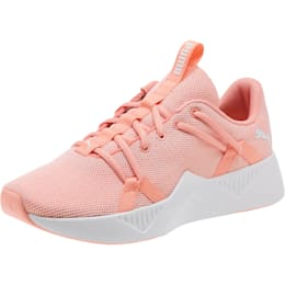 Incite Knit Women's Training Shoes, Peach Bud-Puma White, small