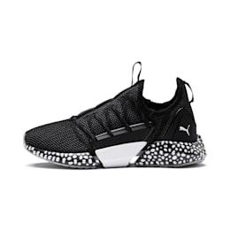 HYBRID Rocket Runner Women's Running Shoes, Black-Iron Gate-White, small