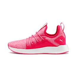NRGY Neko Knit Running Shoes JR, Nrgy Rose-Puma White, small