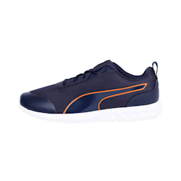 HappyFeetv2 IDP Men's Running Shoes, Peacoat-Firecracker, small-IND