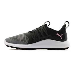 Damskie buty golfowe IGNITE NXT SOLELACE, Black-Metallic Pink, small