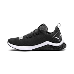 Zapatos para correr HYBRID NX para hombre, Puma Black-Puma White, pequeño