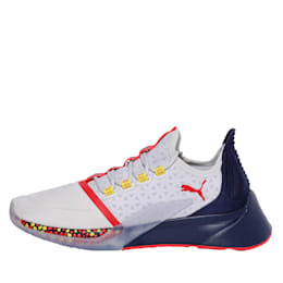 Xcelerator Running Shoes, Gray-Peacoat-High Risk Red, small-IND