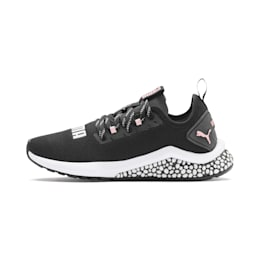 Zapatos para correr HYBRID NX para mujer, Puma Black-Bridal Rose, pequeño