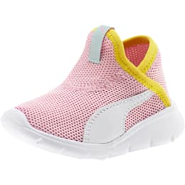 Bao 3 Sock Toddler Shoes, Pale Pink-Puma White-, small