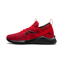 Emergence Men's Running Shoes, High Risk Red-Puma Black, small-IND