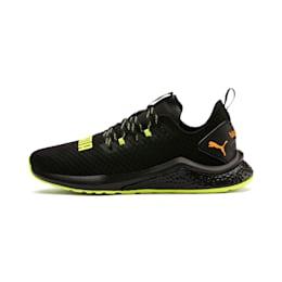 HYBRID NX Daylight Men's Running Shoes, Black-FizzyYellow-OrangePop, small