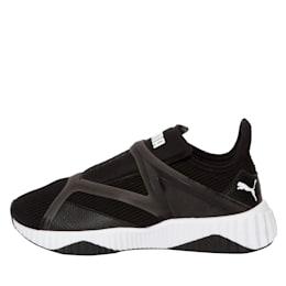 Defy Cage Women's Shoes, Puma Black-Puma White, small-IND