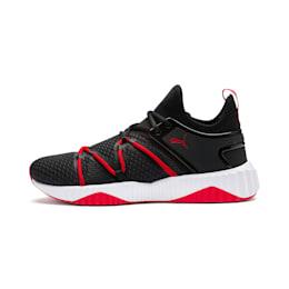 Defy Deco Men's Training Shoes, Puma Black-High Risk Red, small