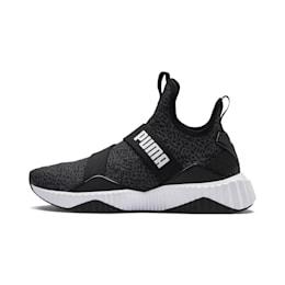 Defy Mid Animal Women's Training Shoes, Puma Black-Puma White, small
