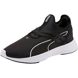 Radiate XT Slip-On Women's Sneakers, Puma Black-Puma Silver, small