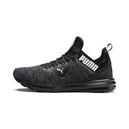 Enzo Beta Woven Men's Training Shoes, Puma Black-Asphalt, small