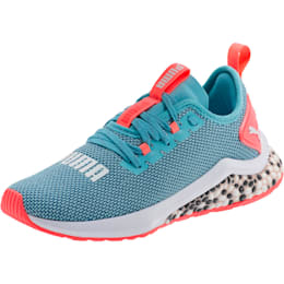 HYBRID NX Running Shoes JR, Milky Blue-Calypso Coral-Wht, small