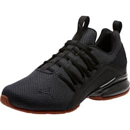 Axelion Mesh Men's Training Shoes, Puma Black, small