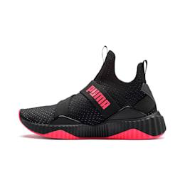 Zapatos de entrenamientoDefy MidCore para mujer, Puma Black-Pink Alert, pequeño