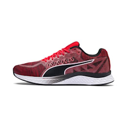 SPEED SUTAMINA Running Shoes, High Risk Red-Puma Black, small