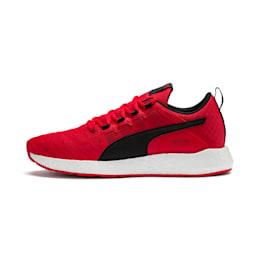 NRGY Neko Turbo Men's Running Shoes, High Risk Red-Black-White, small-IND