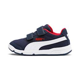 Stepfleex 2 Mesh VE V Kids' Shoes, Peacoat-White-High Risk Red, small-IND