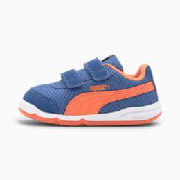 Stepfleex 2 Mesh VE V Babies Sneaker, Bt Cobalt-Firecracker-White, small