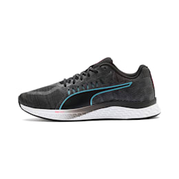 SPEED SUTAMINA Damen Laufschuhe, Black-Milky Blue-Pink Alert, small