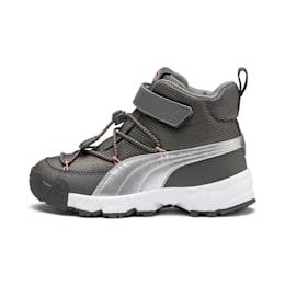 Maka V Kids Sneaker, Steel Gray-Bridal Rose, small
