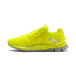 HYBRID Sky Lights Men's Running Shoes, Yellow Alert-Puma Silver, small-IND