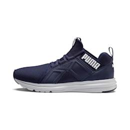 Enzo Geo Men's Sneakers, Peacoat, small