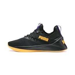 Jaab XT Rave Herren Sneaker, Puma Black-Orange Alert, small