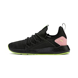 NRGY Neko Shift Women's Running Shoes, Puma Black-Bridal Rose, small-IND