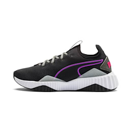 Defy Sheen Women's Training Shoes, Puma Black-Puma White, small