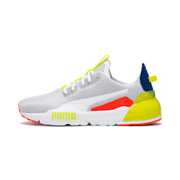 CELL Phase Men's Training Shoes, White-GalaxyBlue-YellowAlert, small