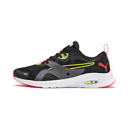 HYBRID Fuego Men's Running Shoes, Puma Black-Yellow Alert, small