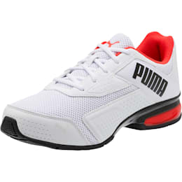 Leader VT Bold Men's Training Shoes, Puma Wht-Hgh Rsk Rd-Pma Blk, small