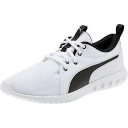 Carson 2 Cosmo Men's Running Shoes, Puma White-Metallic Gold, small