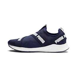 NRGY Star Slip-On Trainers, Peacoat-Puma White, small-IND