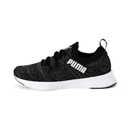 Flyer Women's Running Shoes, Puma Blk-Asphalt-Puma Wht, small-IND