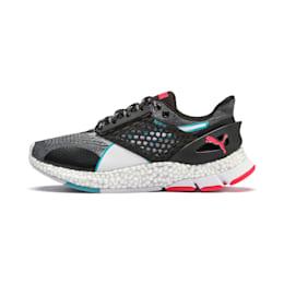 Zapatillas de running de mujer HYBRID NETFIT Astro, Puma Black-Pink Alert, small