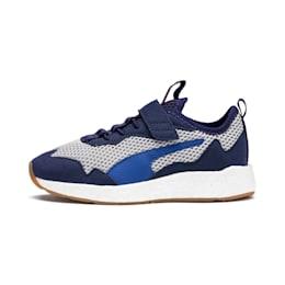 NRGY Neko Skim AC Kids Sneaker, Peacoat-Puma White, small